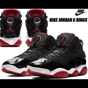 Air Jordan 6 Rings (Six Rings) 🚨❤️🖤🤍👟